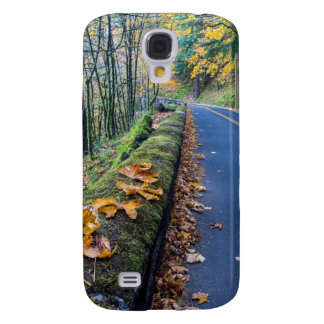Highway 30 Winds Through The Columbia River Galaxy S4 Case