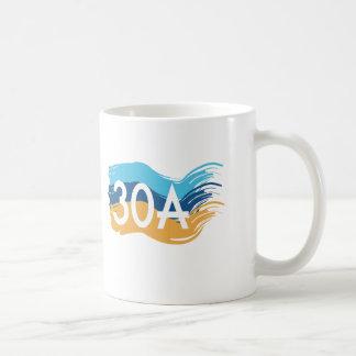 Highway 30A Florida Beach Swash Coffee Mug