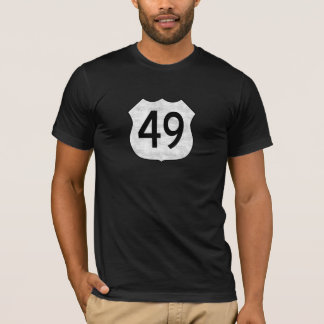 Highway 49 Route Sign T-Shirt