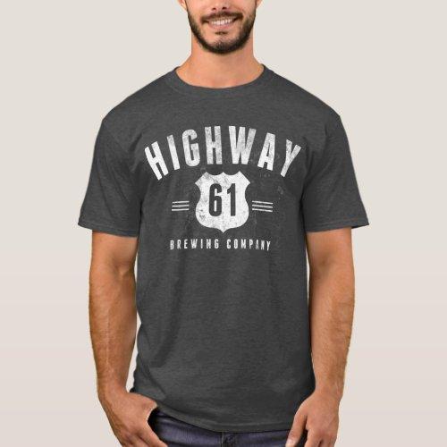 Highway 61 Brewing _ Gray Tee