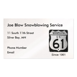 Highway 61 business card