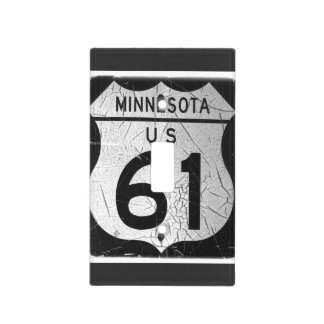 Highway 61 light switch plate