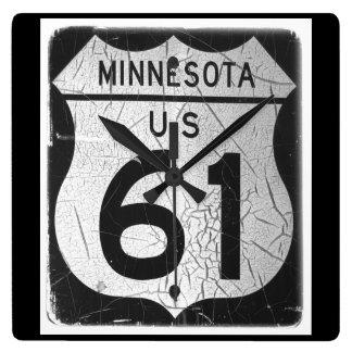 Highway 61 wall clocks