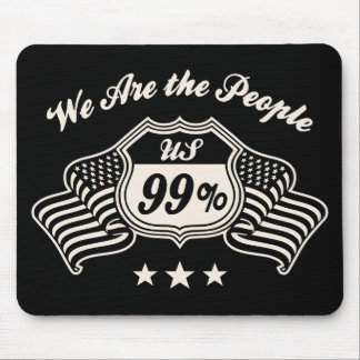 Highway 99% -bw mouse pad