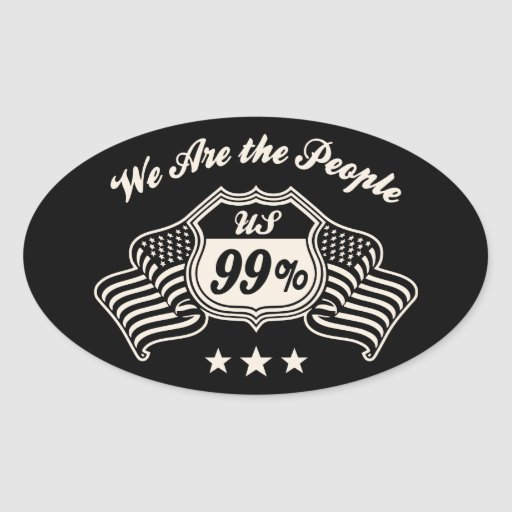 Highway 99% -bw oval sticker