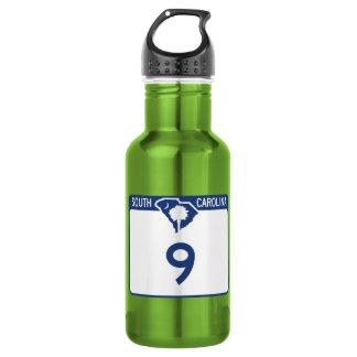 Highway 9, South Carolina, USA 18oz Water Bottle