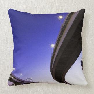 Highway at Night Pillows