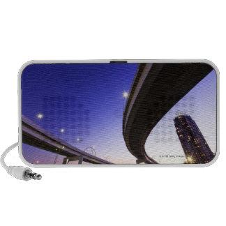 Highway at Night iPhone Speakers