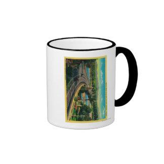 Highway Bridge across Santa Ana River Coffee Mugs