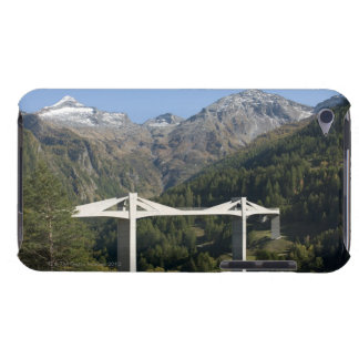 Highway bridge in the Alps iPod Touch Cover