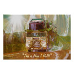 Highway Car Mover 2 Truck-Driver Art Poster