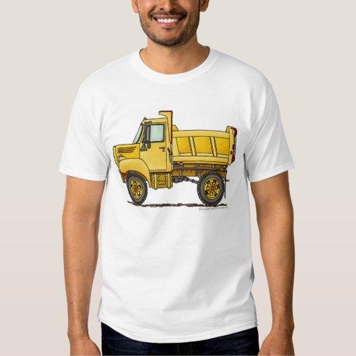 Highway Dump Truck Construction Apparel Shirt