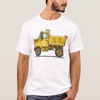 Highway Dump Truck Construction Apparel T-Shirt