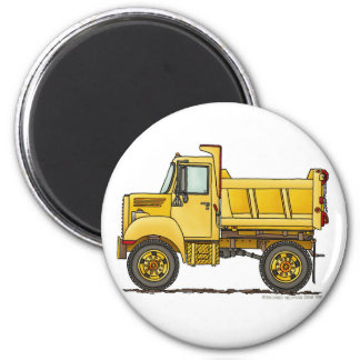Highway Dump Truck Construction Magnets