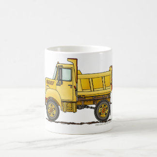 Highway Dump Truck Construction Mugs
