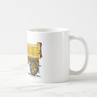 Highway Dump Truck Construction Mugs