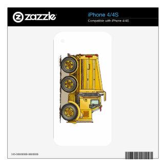 Highway Dump Truck iPhone 4S Decal