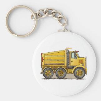 Highway Dump Truck Key Chain