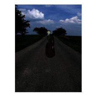 Highway Ghost Postcard