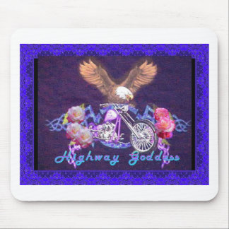 Highway Goddess Mouse Pad