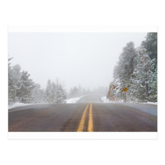 Highway Into Heaven Postcard
