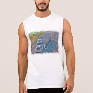 Highway Lorry Freight Truck Driver Gear Sleeveless Shirt