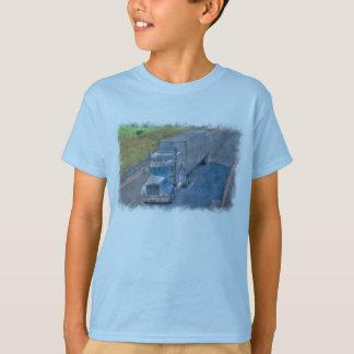 Highway Lorry Freight Truck Driver Gear T-Shirt