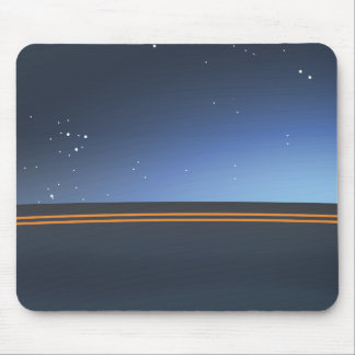 Highway Midnight Mouse Pad