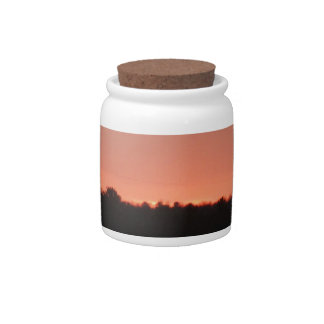 Highway natural sunset candy dish