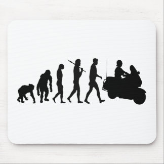 Highway patrol law enforcement officers gear mouse pad