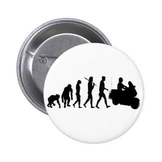 Highway patrol law enforcement officers gear pinback button