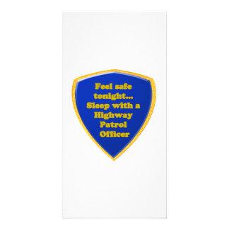 Highway Patrol Officer Card