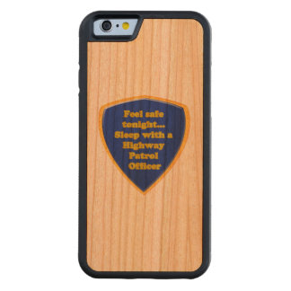Highway Patrol Officer Carved Cherry iPhone 6 Bumper Case