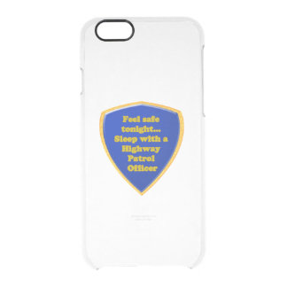 Highway Patrol Officer Clear iPhone 6/6S Case