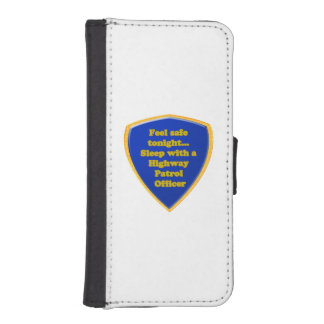 Highway Patrol Officer iPhone SE/5/5s Wallet