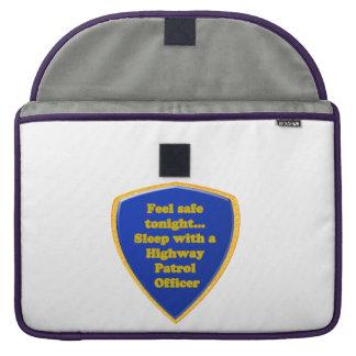 Highway Patrol Officer MacBook Pro Sleeve