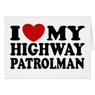 Highway Patrolman Card