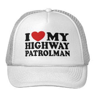 Highway Patrolman Trucker Hat