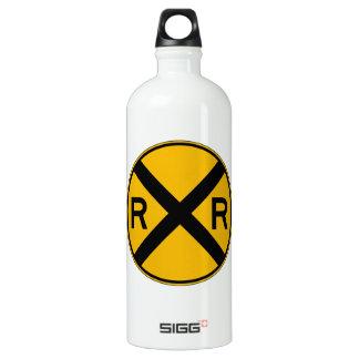Highway-Rail Crossing, Traffic Warning Sign, USA SIGG Traveler 1.0L Water Bottle