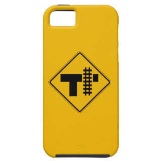 Highway-Rail Grade Crossing 1, Traffic Sign, USA iPhone 5 Case