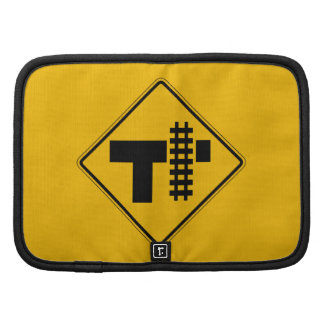 Highway-Rail Grade Crossing 1 Traffic Sign USA Folio Planners
