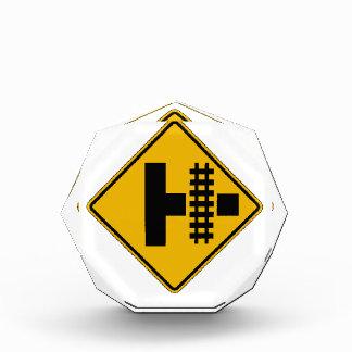 Highway-Rail Grade Crossing 3, Traffic Sign, USA Acrylic Award