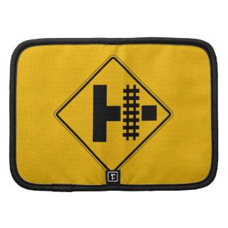 Highway-Rail Grade Crossing 3 Traffic Sign USA Organizer