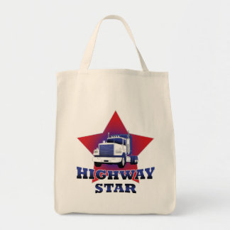 Highway Star Trucker Tote Bag
