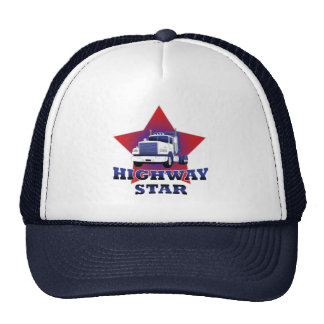 Highway Star Trucker Trucker Hat