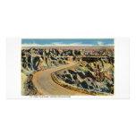 Highway through Badlands Photo Card Template