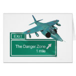 Highway to Danger Zone Greeting Card