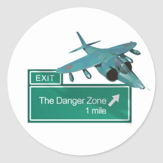 Highway to Danger Zone Stickers