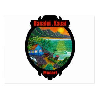 """Highway to heaven"",magic window design Postcard"