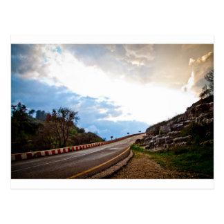 Highway to heaven postcard